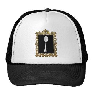 La cuchara enmarcada gorras