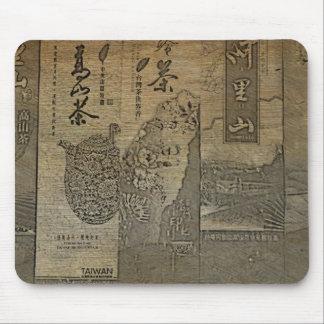 La cultura taiwanesa del té resuelve de alta tecno tapetes de ratones