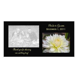 La dalia blanca divina le agradece las tarjetas de