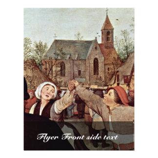 La danza campesina, (detalle) por 0 (la mejor folleto 21,6 x 28 cm