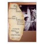 La danza de la tarjeta de felicitación de la vida