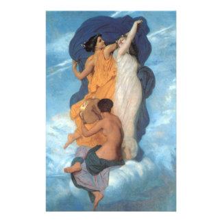 La danza de William-Adolphe Bouguereau Folleto 14 X 21,6 Cm