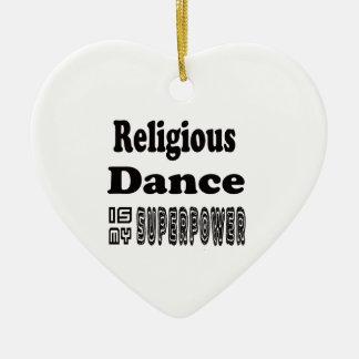 La danza religiosa es mi superpotencia adorno para reyes