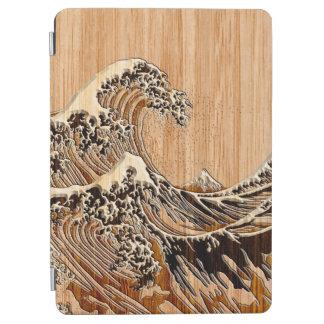 La decoración de madera de bambú del estilo de la cover de iPad air