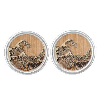 La decoración de madera de bambú del estilo de la gemelos