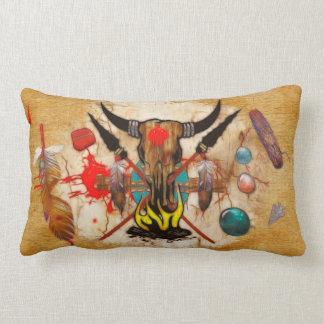 La decoración del nativo americano de la promesa cojin