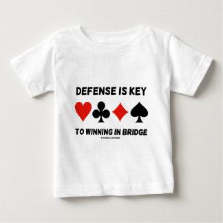 La defensa es dominante a ganar en el puente (los camiseta para bebé