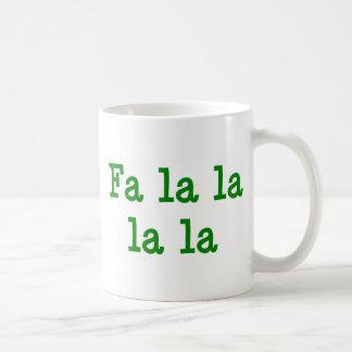 La del la del la del la del Fa Tazas De Café