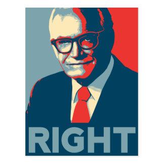 La derecha de Barry Goldwater Postal