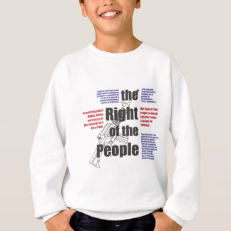 La derecha de la gente sudadera