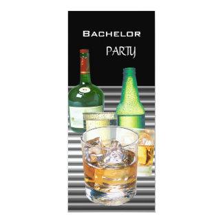 La despedida de soltero bebe las botellas 2 invitación 10,1 x 23,5 cm