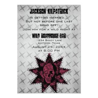 La despedida de soltero del cráneo del Grunge Comunicado Personalizado