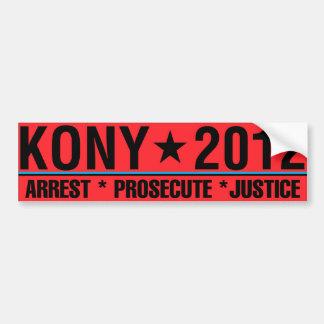 La detención de KONY 2012 procesa a la pegatina Pegatina Para Coche