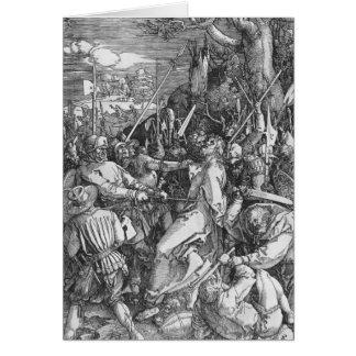 La detención del Jesucristo, 1510 Tarjeta De Felicitación