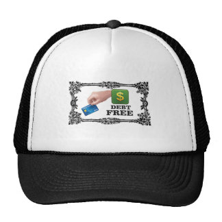 la deuda libera la etiqueta gorra