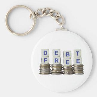 La deuda libera llavero