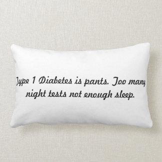 la diabetes del tipo 1 es almohada de los pantalon