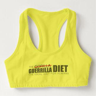 La dieta Alo de la guerrilla se divierte el Sujetador Deportivo