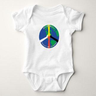 La diversidad no puede Trumped Body Para Bebé