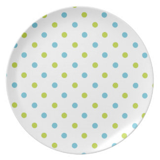 La diversión florece la placa de la melamina del v plato para fiesta