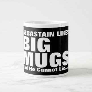 La diversión personalizada tiene gusto de las taza de café grande