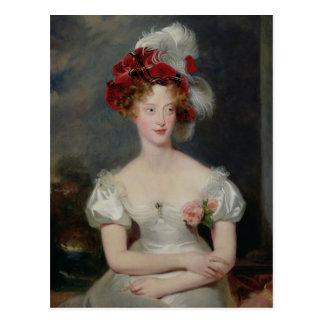 La Duchesse de Berry c.1825 Postal