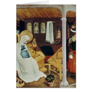 La duda de San José, c.1410-20 Tarjeta De Felicitación