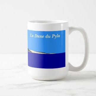 """La Dune du Pyla "" Taza Básica Blanca"