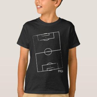 La echada del fútbol embroma la camiseta (el
