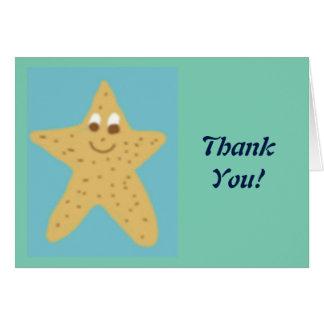 La ECO Starr le agradece las notas Tarjeta De Felicitación