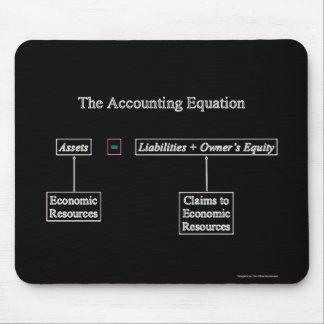 """""""La ecuación de la contabilidad """" Alfombrilla De Ratón"""