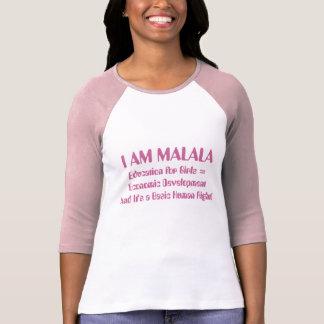 La educación para los chicas lleva al desarrollo camisetas