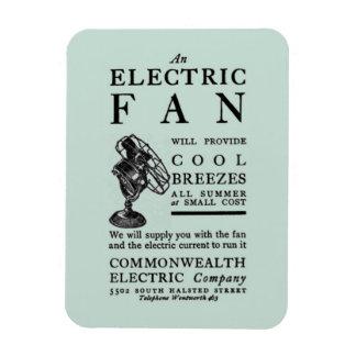 La electricidad 1902 de la compra de la publicidad imanes flexibles