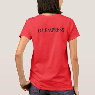La emperatriz Riddim de DJ arraiga la camiseta de