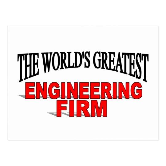 La empresa de la ingeniería más grande del mundo postal