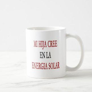 La Energia del En del Cree del MI Hija solar Tazas