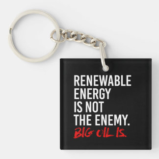 La ENERGÍA RENOVABLE NO ES el ENEMIGO - - Llavero