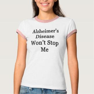 La enfermedad de Alzheimer no me parará Camiseta