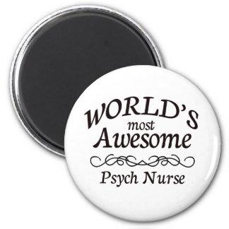 La enfermera más impresionante de Psych del mundo Imán Redondo 5 Cm