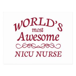 La enfermera más impresionante del NICU del mundo Tarjetas Postales