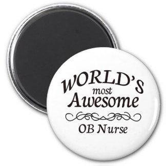 La enfermera más impresionante del OB del mundo Imán Redondo 5 Cm
