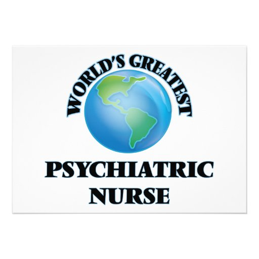La enfermera psiquiátrica más grande del mundo invitacion personal
