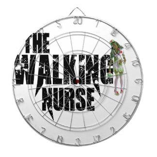 La enfermera que camina diana