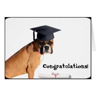 La enhorabuena gradúa la tarjeta de felicitación d