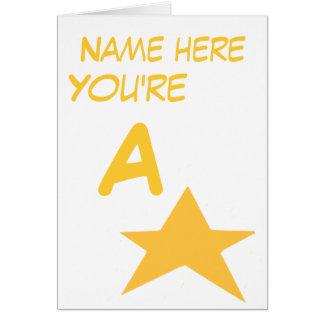 La enhorabuena llana añade el frente conocido tarjeta de felicitación