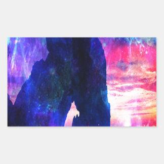 La ensenada del soñador de Amorem Amisi del Pegatina Rectangular