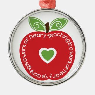 La enseñanza es un trabajo del ornamento de Apple