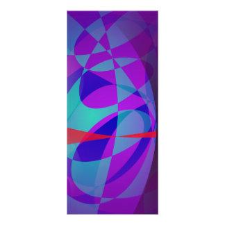 La entrada a las maderas púrpuras diseños de tarjetas publicitarias