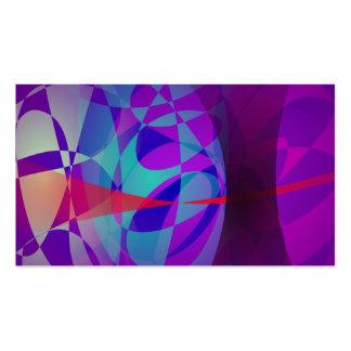 La entrada a las maderas púrpuras tarjetas de visita
