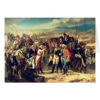 La entrega de Bailen, el 23 de julio de 1808 Felicitación